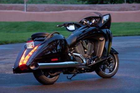 2011 Victory Motorcycles Lineup BJN26550