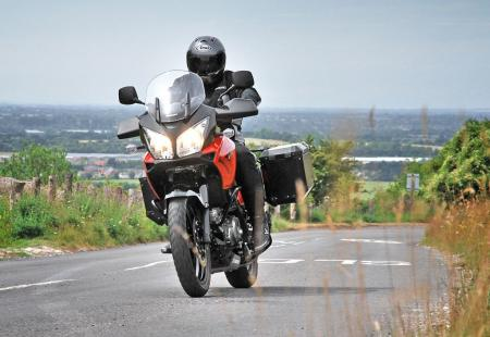 Suzuki GB is calling the V-Strom 650 Xpedition its flagship model.