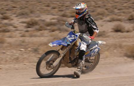 Anthony Westbay was feeding Cody a steady diet of dust for much of the race.