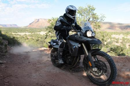 The F800GS: BMW's tinier go-anywhere, do-anything GS.