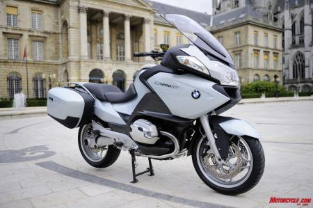The BMW R1200RT receives new cylinder heads along with various updates for 2010. Nice improvements to a bike we�ve always found appealing.