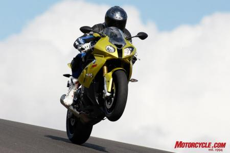 A 175-horsepower punch lets you get away with a funky nose. BMW�s S1000RR redefines the literbike market and is also our Motorcycle of the Year.