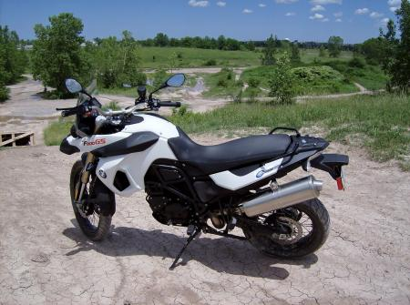 Is the F800GS a streetbike on stilts, a hardcore dual-sport bike, or a little of both?