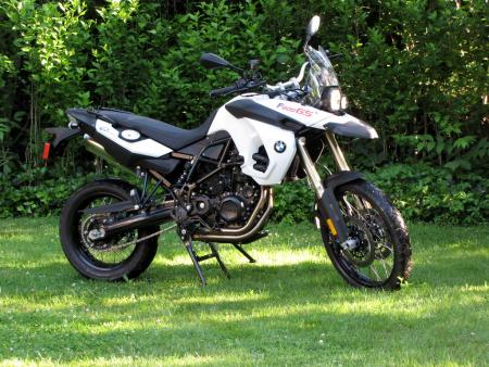 2010 BMW F800GS profile