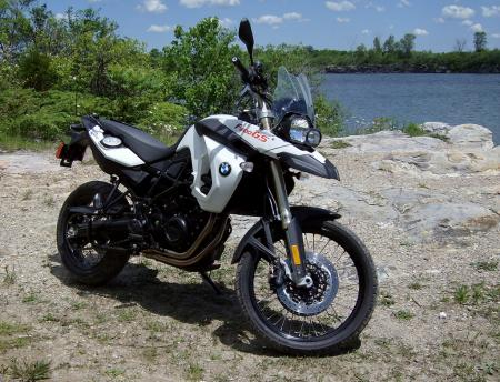 2010 BMW F800GS quarry