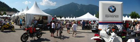 BMW Motorrad Days. Heaven for the devout BMW enthusiast comes once a year in the German ski resort of Garmisch.