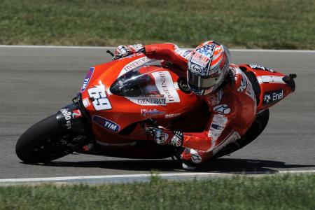 Nicky Hayden 2010 Indianapolis Grand Prix