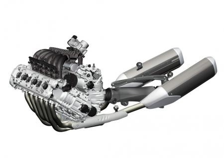 BMW K1600GT Engine