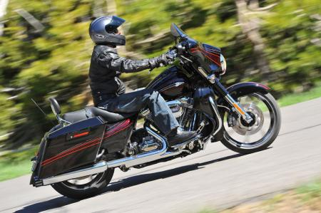 The successful Street Glide again gets the CVO treatment for 2011. It�s a highly desirable light-duty touring cruiser.