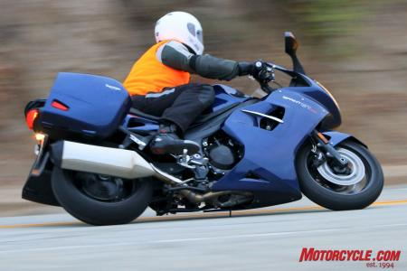 2011 Triumph Sprint GT Review  Heavier  but still in a class of