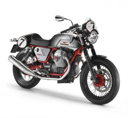 The Moto Guzzi V7 Racer will be produced as a special numbered edition model.