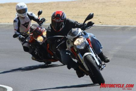 Ducati Monster 796 vs Triumph Street Triple R IMG_6422