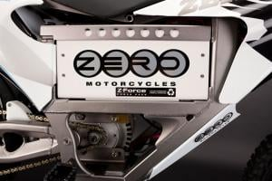 Zero dirtbikes have quickly swappable batteries to keep the action going.