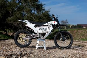 Zero's X is developed, and for sale now, while others still cope with impediments to bringing their own dirt machines to market.