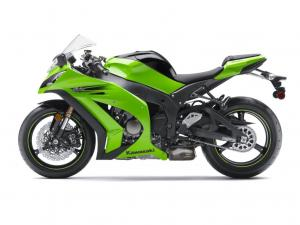 Kawasaki's sophisticated new S-KTRC traction control is standard equipment on the 2011 ZX-10R.