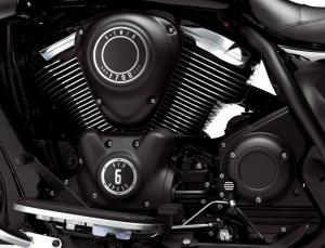 The 1700cc big Twin in the 2011 Vulcan 1700 Voyager, Classic and Nomad also powers the Vaquero.