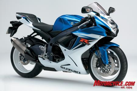 The GSX-R600 looks more finely finished than ever.