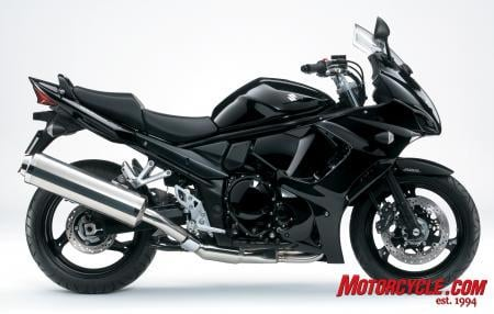 The 2011 GSX1250FA takes the Bandit to a sleeker, sport-touring angle with its full fairing and standard ABS brakes.