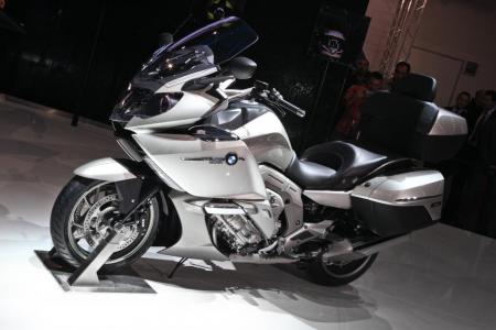 The BMW K1600GTL was finally unveiled to the public at INTERMOT.