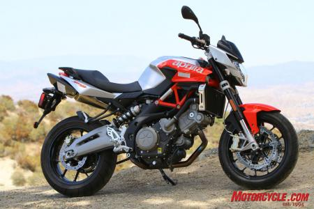 A second go 'round with the moderately updated Shiver 750 gave Pete the opportunity to develop a new admiration for the naked middleweight Aprilia.