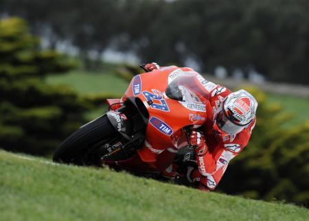 Casey Stoner was once again tops down under, winning his fourth straight Australian Grand Prix.