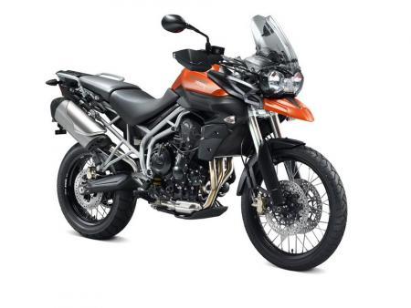 The Triumph Tiger 800XC is better equipped for off-road riding excursions.