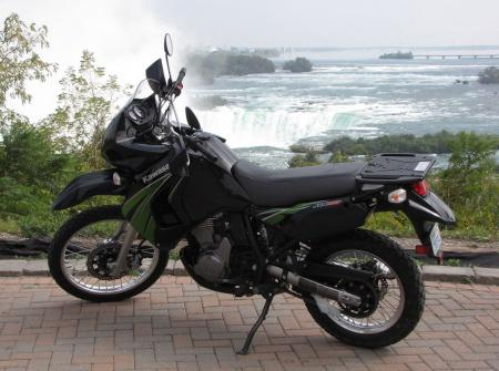 Ride anywhere. Anytime. The KLR is just about the most useful addition to your motorcycle collection we can think of.