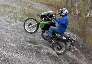 You'll be surprised at what a solid trail-mate the KLR can be!