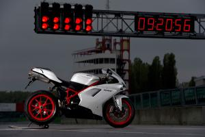 The Ducati 848 EVO is semi-affordable exotica.