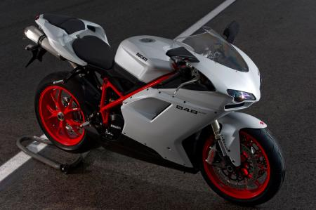 The Ducati 848 EVO is perhaps the prettiest sportbike available for less than $13,000.