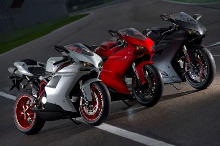 The 2011 Ducati 848 EVO. Now in three fun flavors!