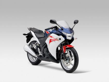 Like its larger CBR siblings, the tri-color CBR250R will only be available in Europe.