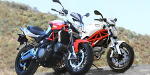 Ducati Monster 796 vs. Aprilia Shiver IMG 0002