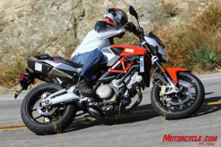 Ducati Monster 796 vs. Aprilia Shiver IMG 1327