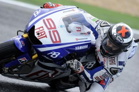 Jorge Lorenzo had another opportunity to test his Dainese D-Air airbag in a high-side crash during free practice.
