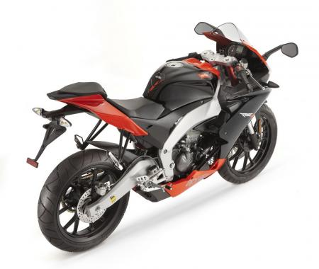 The Aprilia RS4 125 will be in American dealers in late 2011.