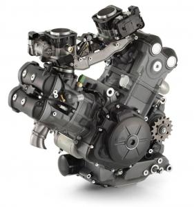 Along with providing rich midrange torque, we suspect the Piaggio-built V-Twin will offer high mileage reliability.