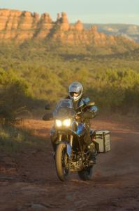 Roosting in the Arizona desert, the Super Ténéré will land in American dealers in May, 2011.