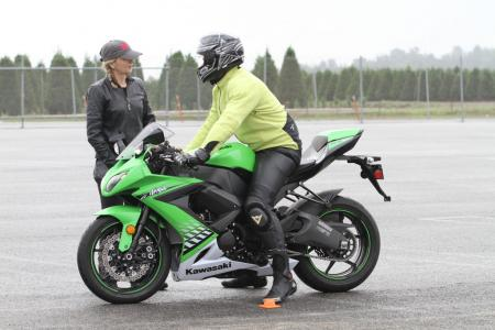 Thanks to Kawasaki for the loan of its powerful and sweet-handling ZX-10R. This bike fits me like a glove, and is one of my favorite literbikes.