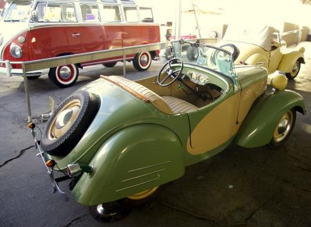 Bud Ekins Auction - Crosley Roadster and VW Van