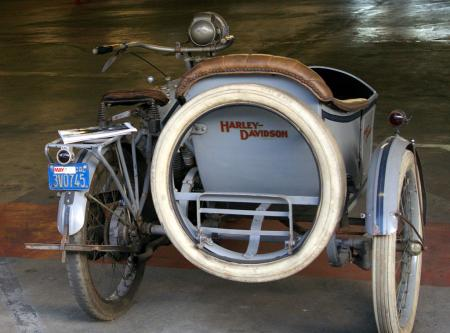 Bud Ekins Auction - HD Sidecar