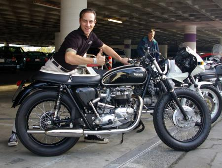 Bud Ekins Auction - Triumph Von Dutch