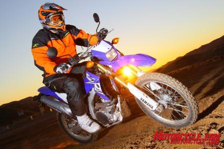 2011 Yamaha WR250R Off-Road Riding