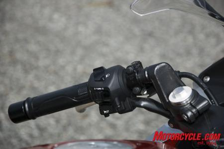 2011 Honda CBR250R Switches (left)