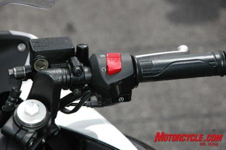 2011 Honda CBR250R Switches (right)