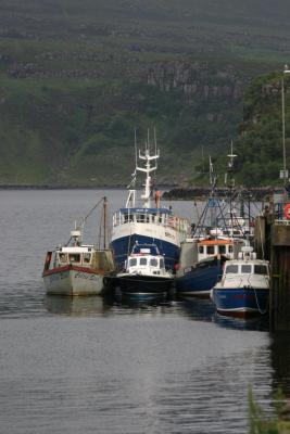 Harbor at Portree
