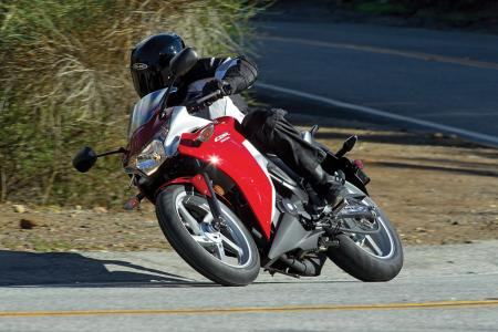 2011 Honda CBR250R Red Act8