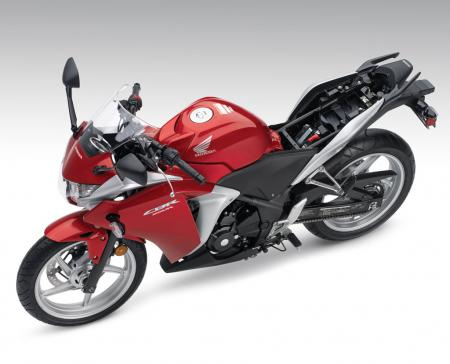 2011 Honda CBR250R Red Det14