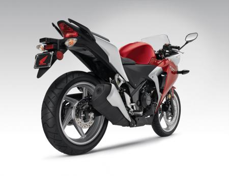 2011 Honda CBR250R Red Det16