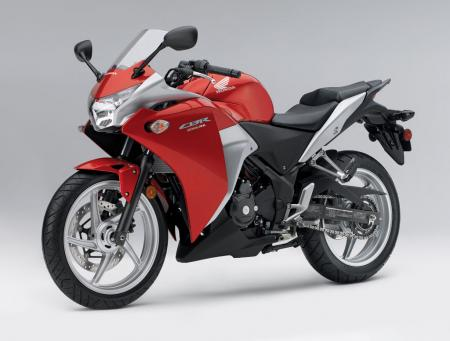 2011 Honda CBR250R Red Det03